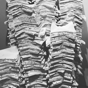 Stack of bad scripts.